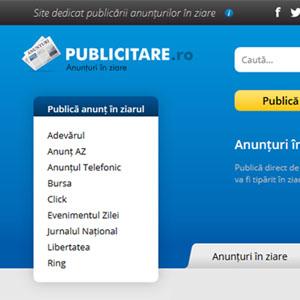 Website von timisoara